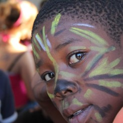 Face painting - boy